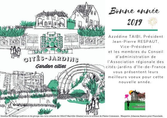 Les moments forts des cités-jardins en 2018