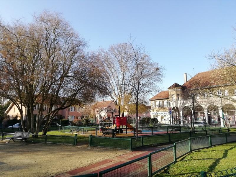 Square - Cité-jardins de Gennevilliers