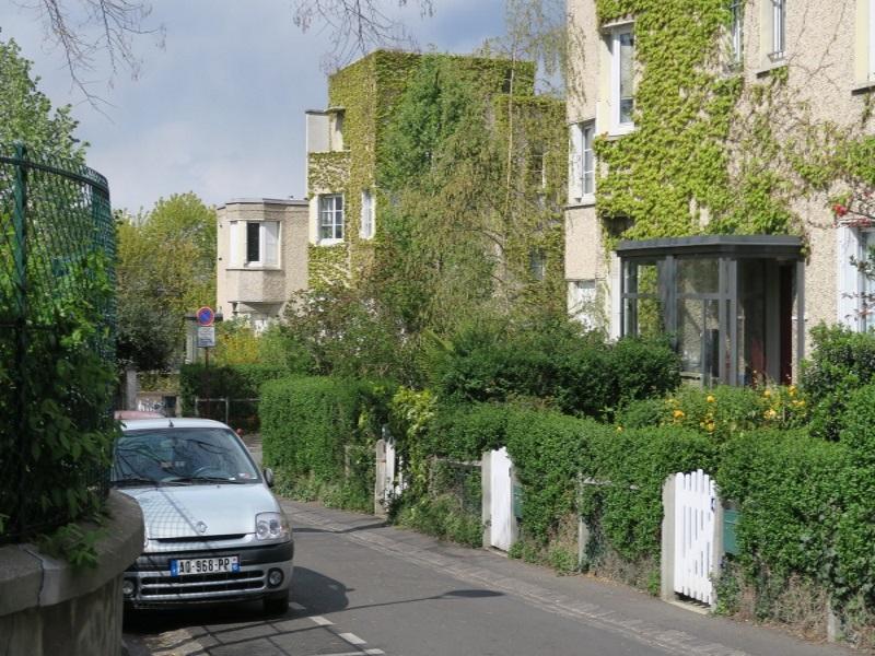 Pavillons, cité-jardin du Pré Saint-Gervais