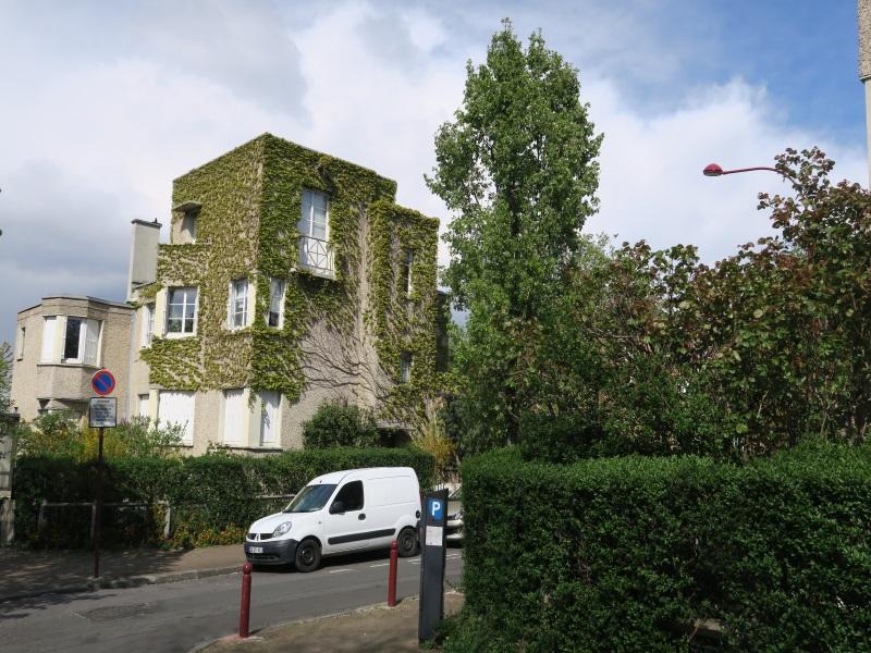 Pavillon, cité-jardin du Pré Saint-Gervais