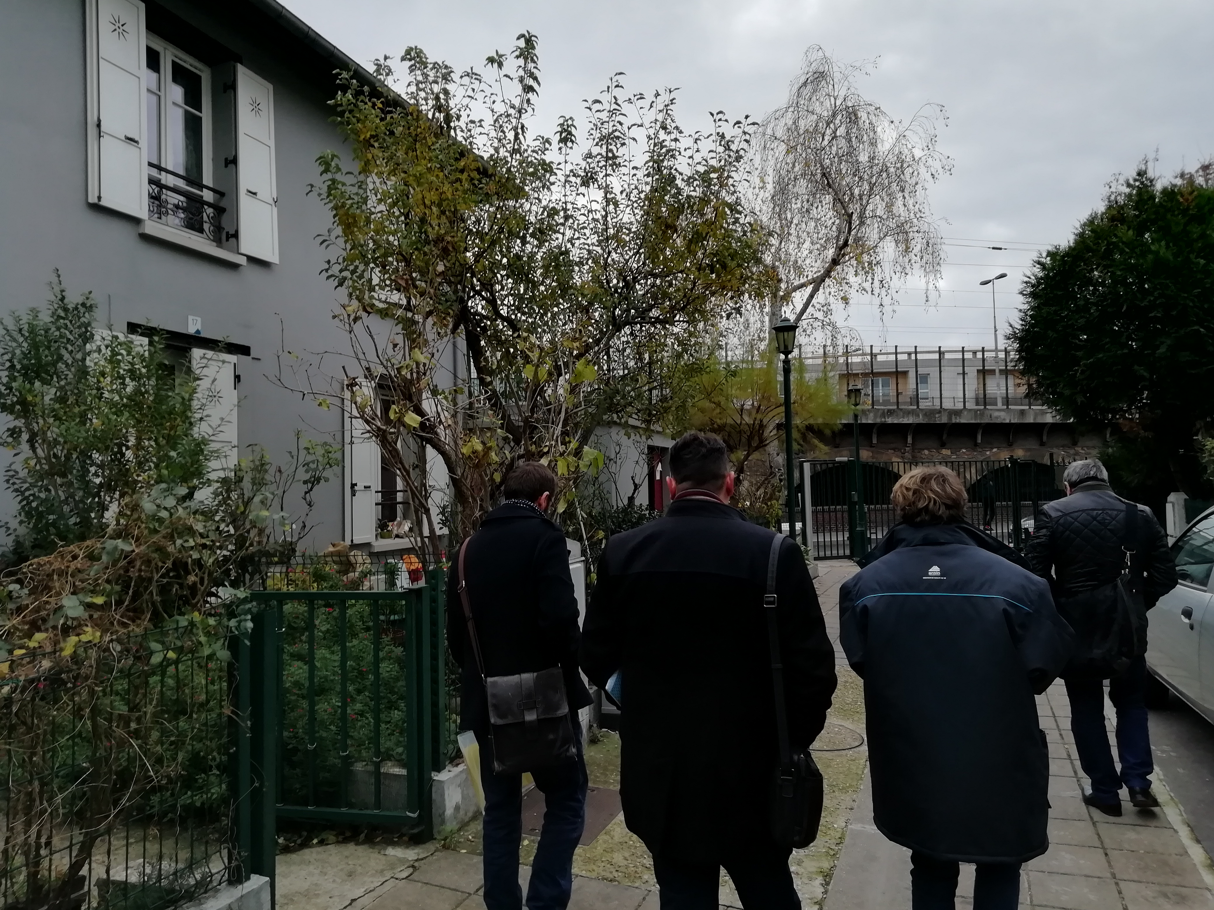 Commission préservation / visite de la Ruche (Saint-Denis)