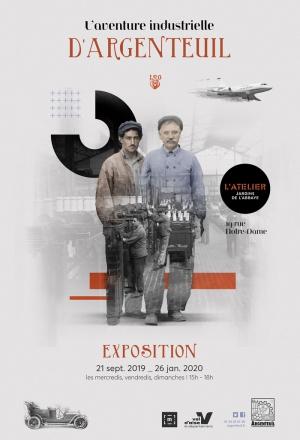 """Exposition """"L'aventure industrielle d'Argenteuil"""""""