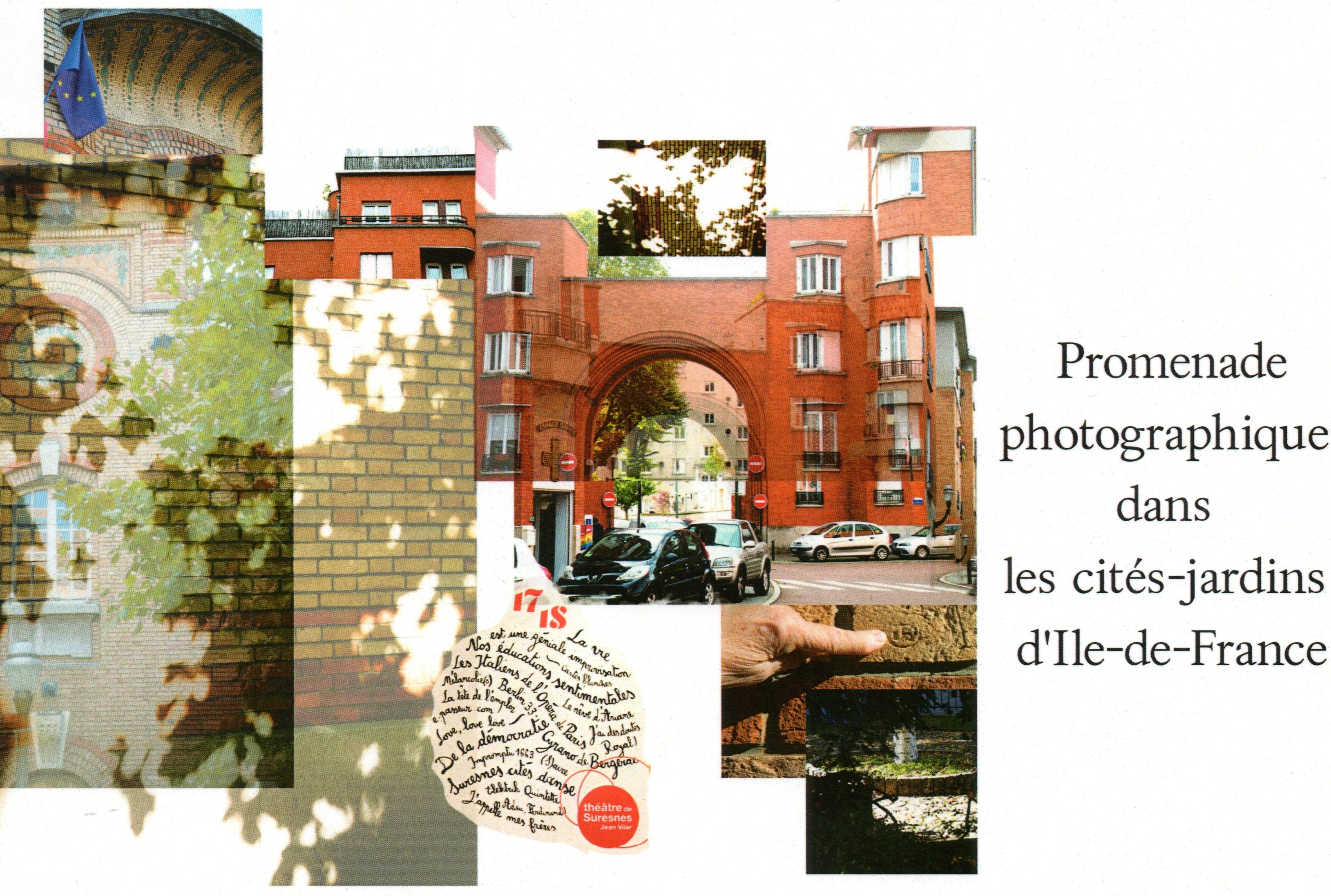 Couverture Promenades photographies 3 Anna Rouker