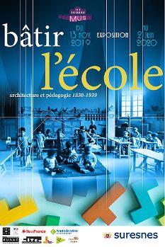 Visite guidée des collections permanentes et de l'exposition temporaire Bâtir l'école : architecture et pédagogie