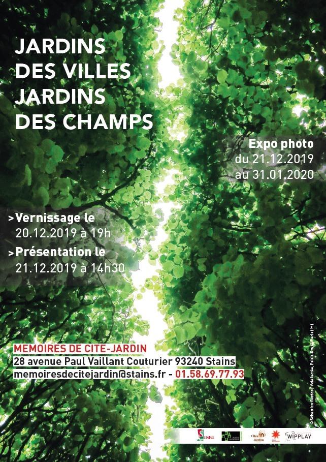 Clôture exposition Jardins des villes, jardins des champs