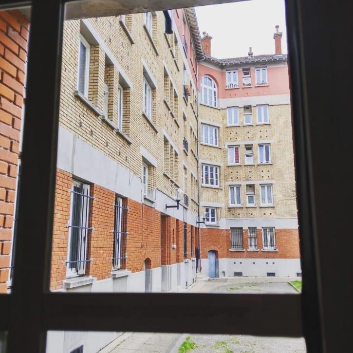 Vue fenêtre cité-jardin de Suresnes