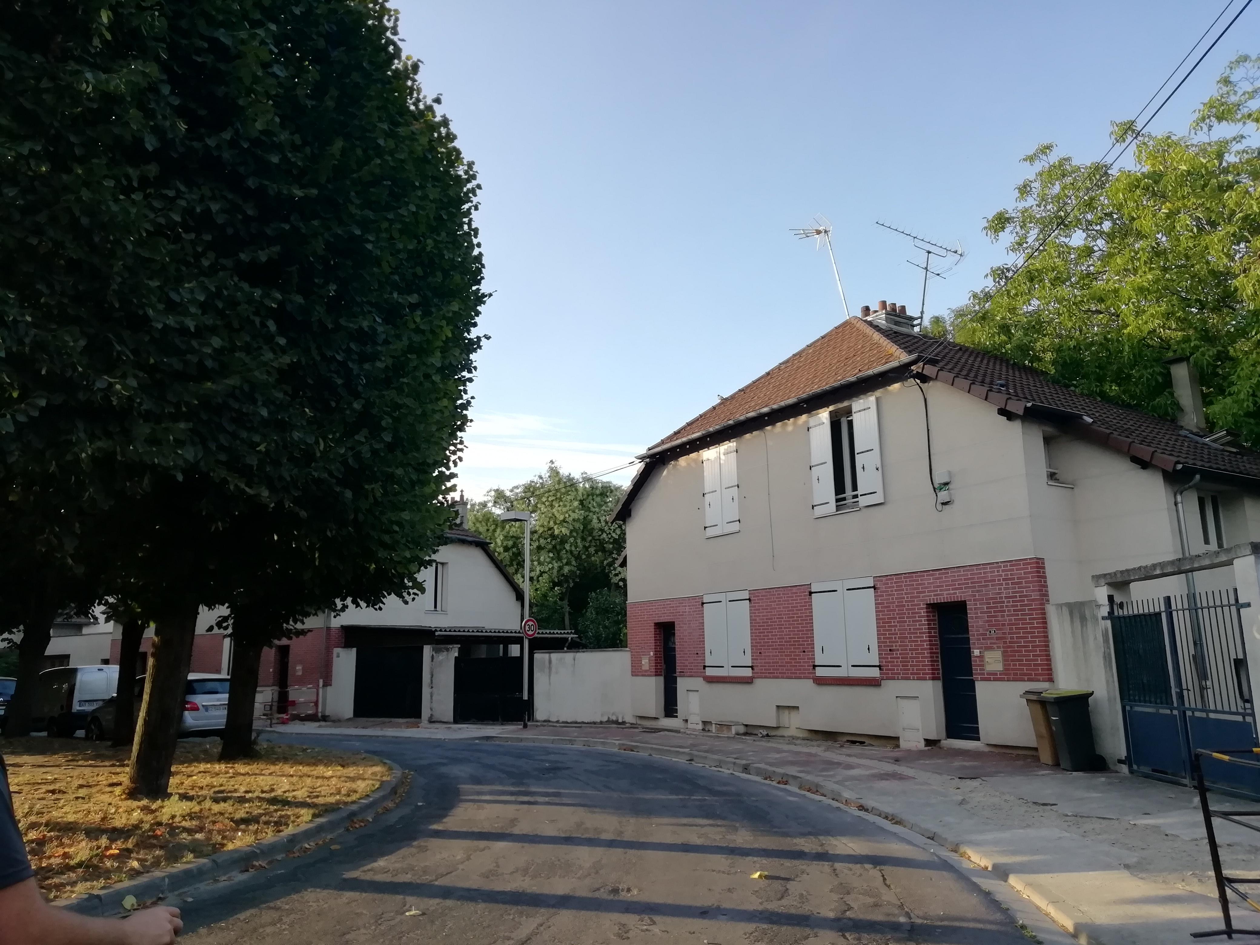 Pavillon cité Albert 1er La Courneuve