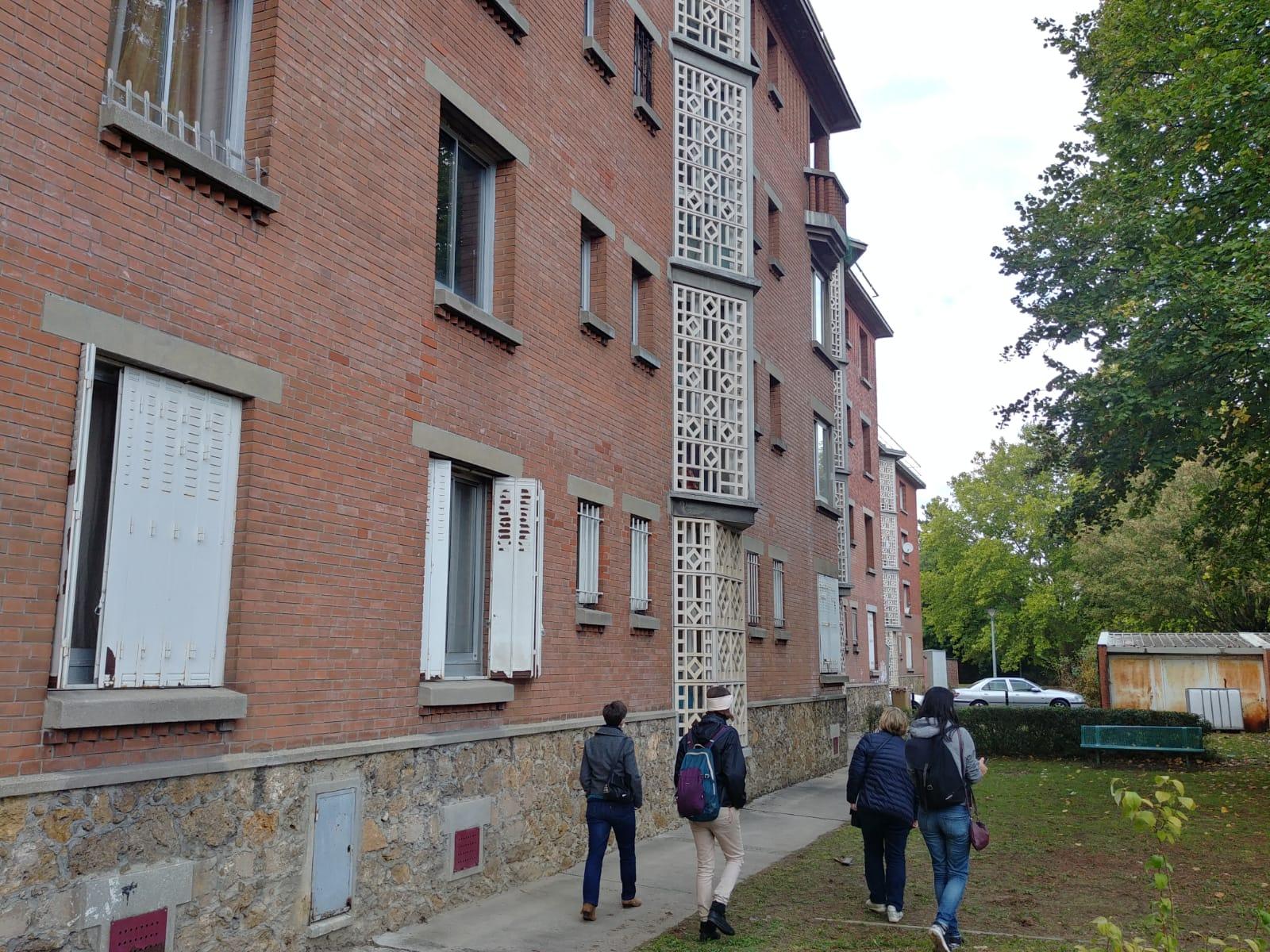 Les cités-jardins en automne / Les cités-jardins de Dugny