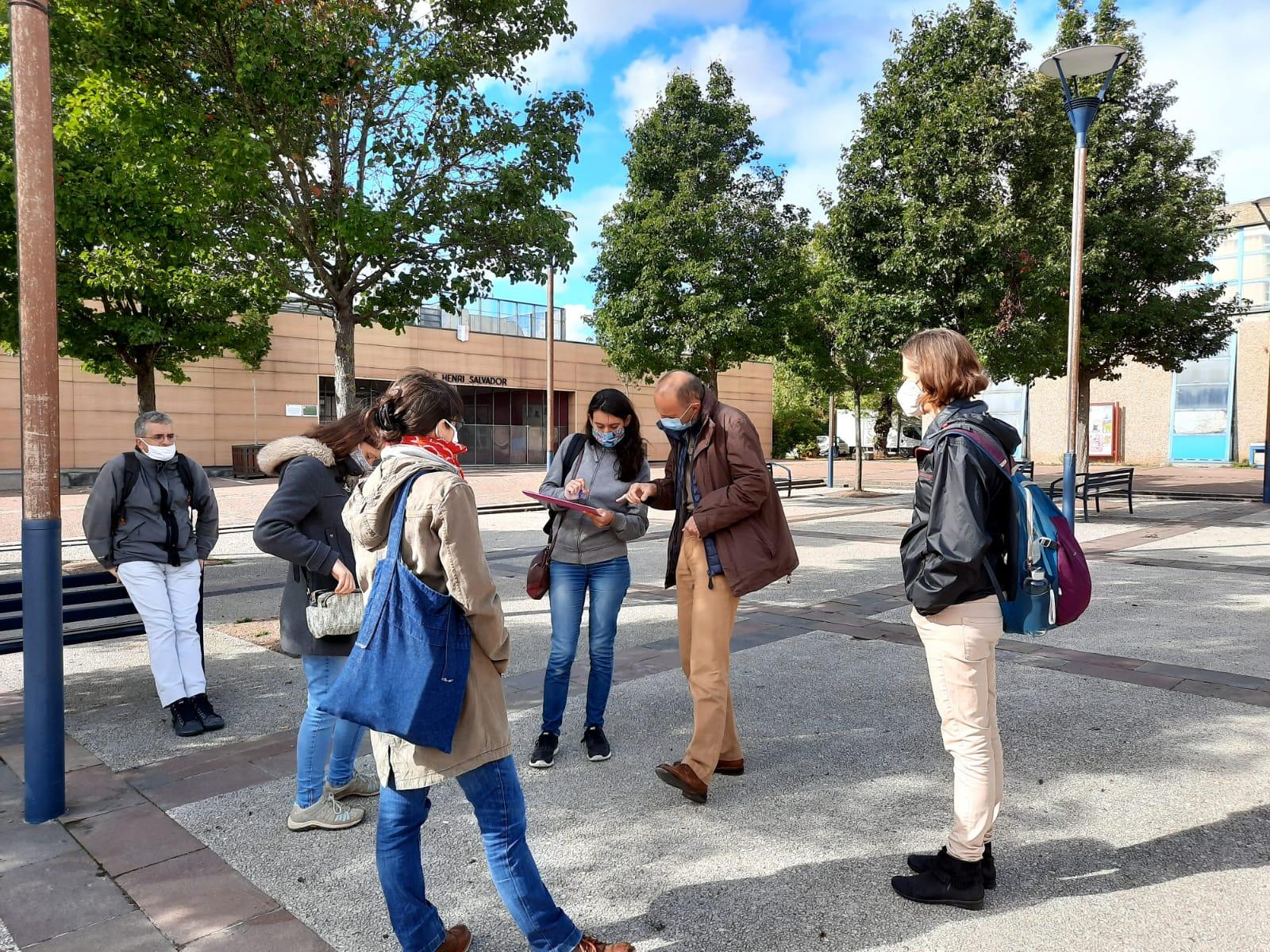 Les cités-jardins en automne / Visite des cités-jardins de Dugny