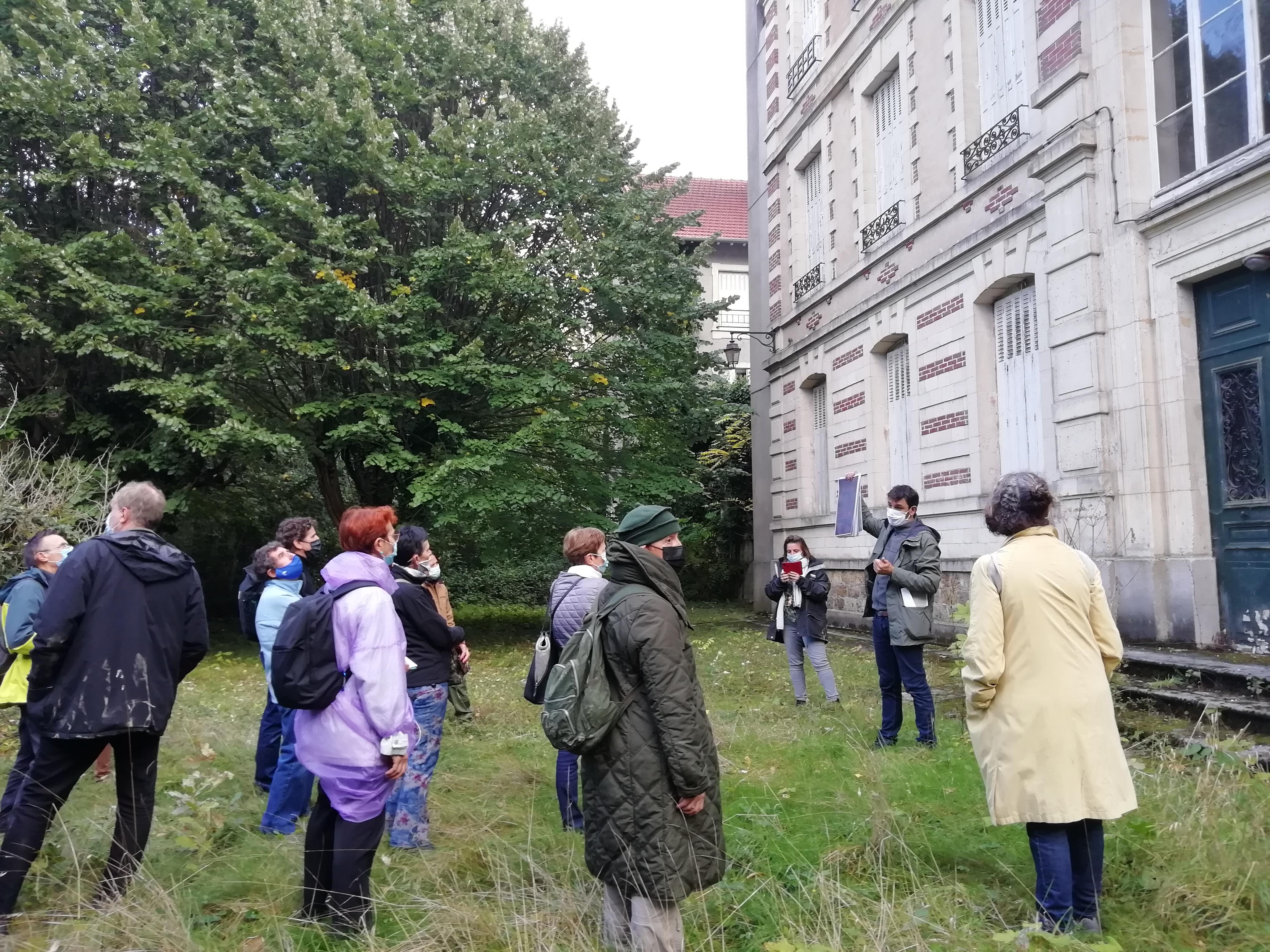 Les cités-jardins en automne / La Poudrerie un parc et une cité-jardin