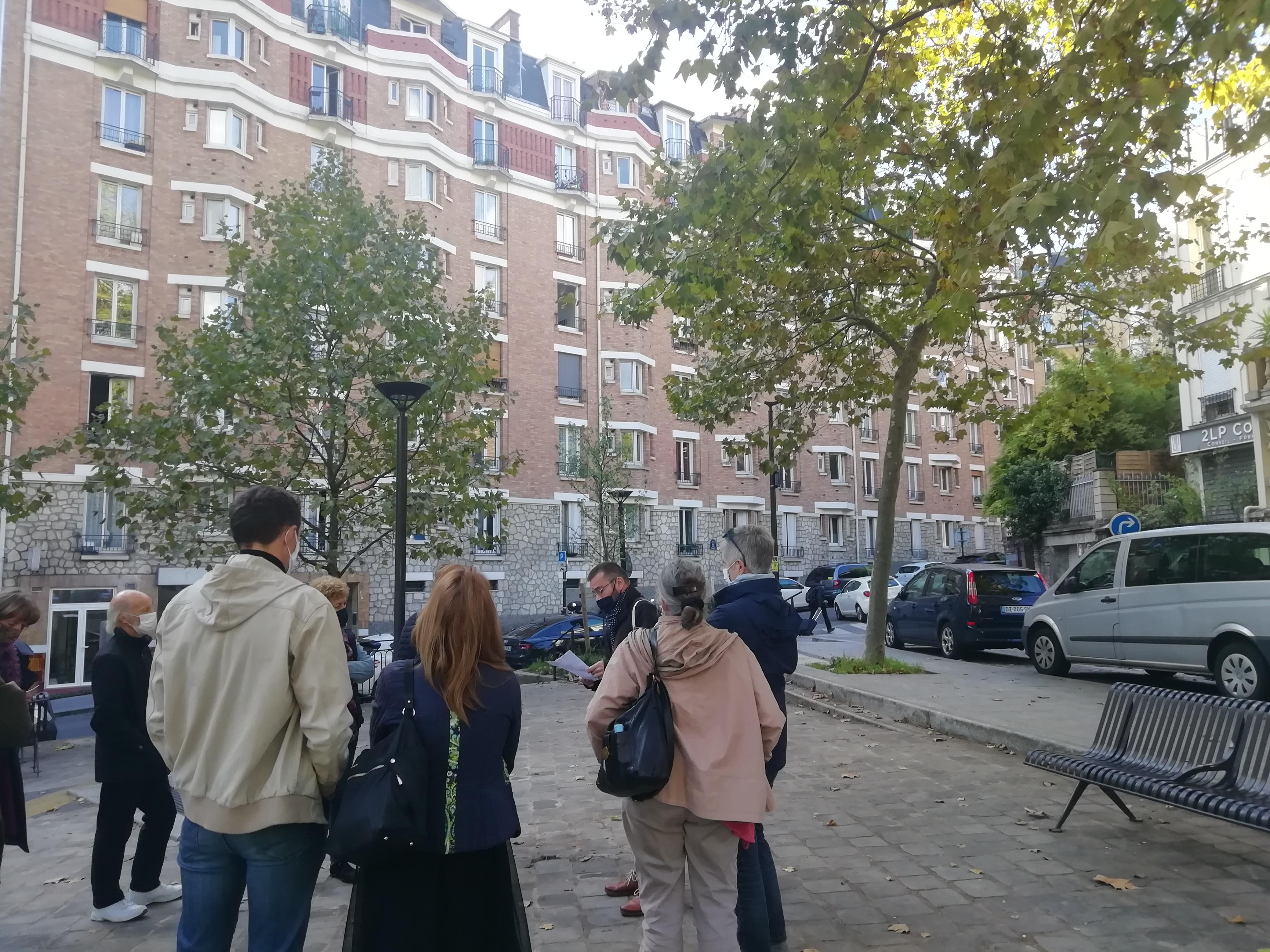 Les cités-jardins en automne / Paris-Banlieue