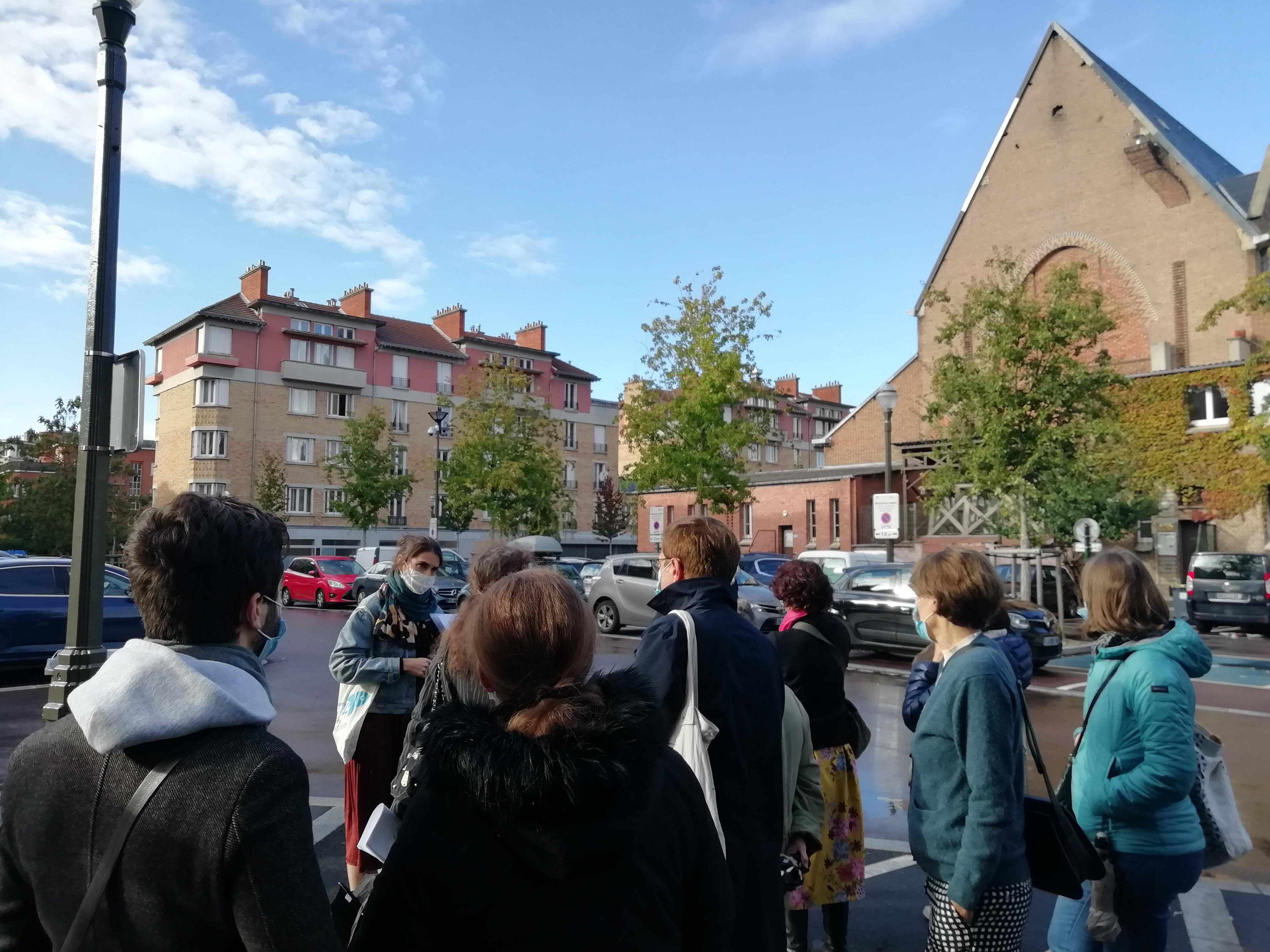 Les cités-jardins en automne / Visite de la cité-jardin de Suresnes