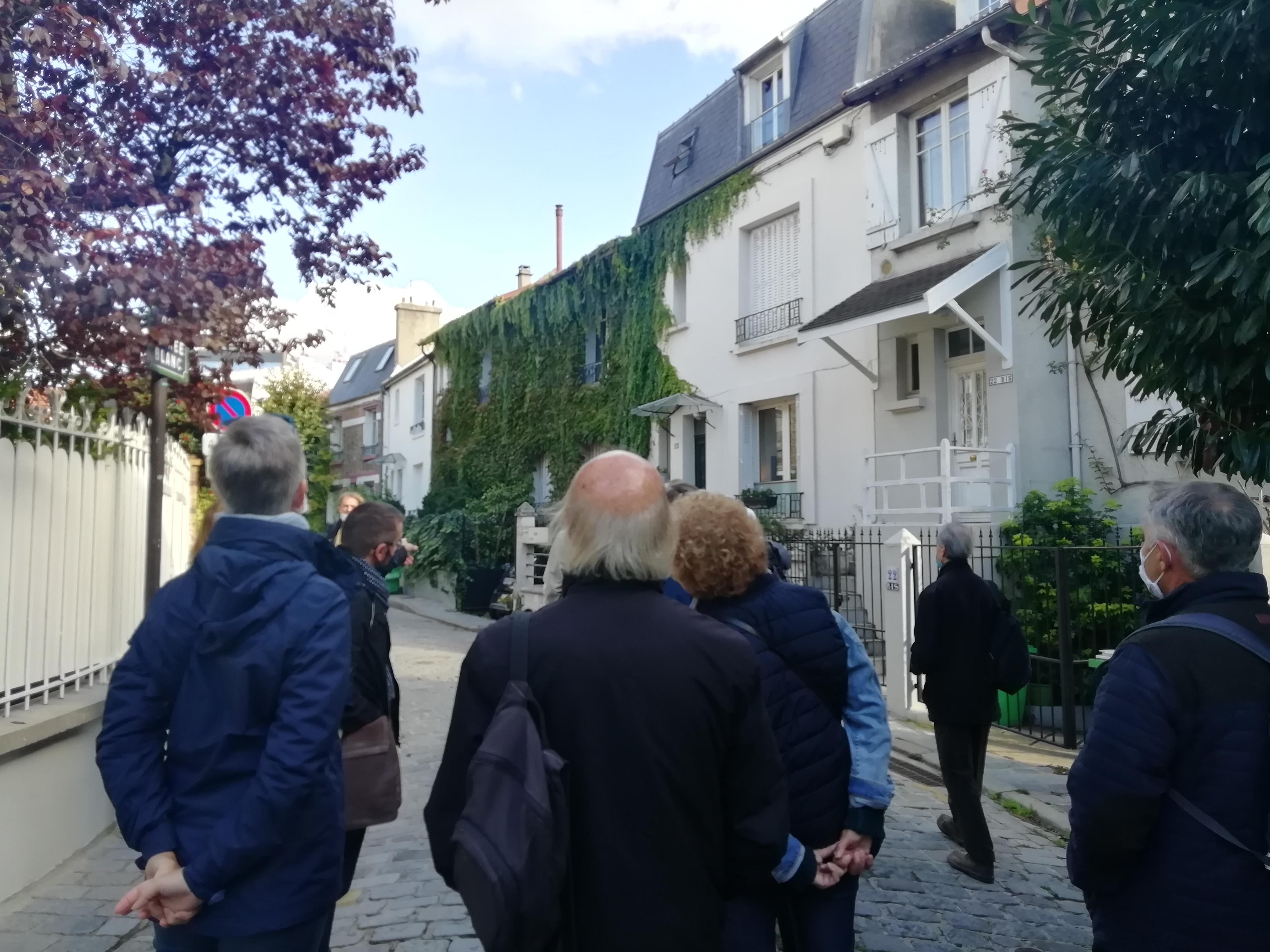 """La Campagne à Paris, visite dans le cadre de """"l'Automne des cités-jardins"""""""