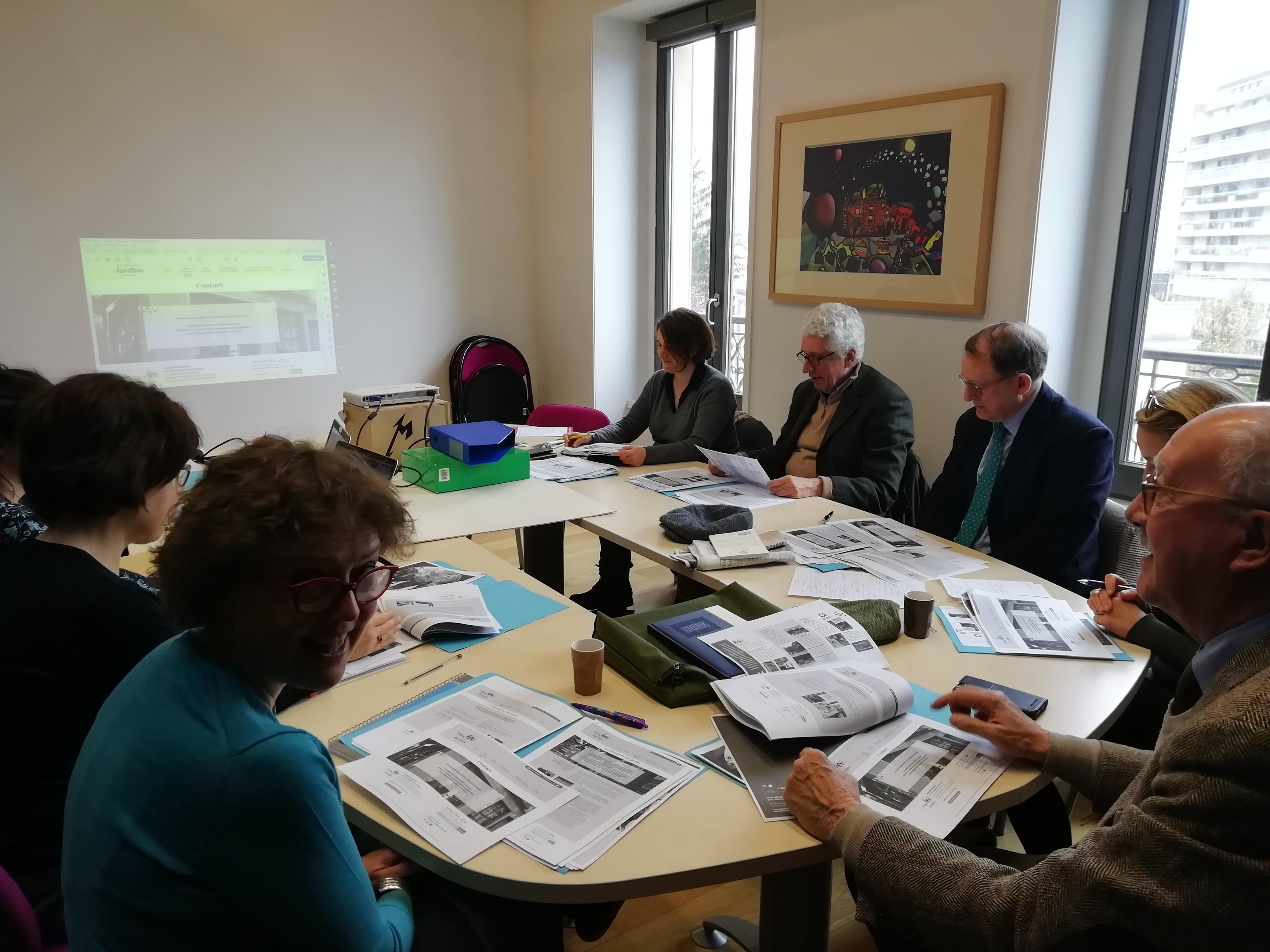 Réunion commission promotion-valorisation MUS